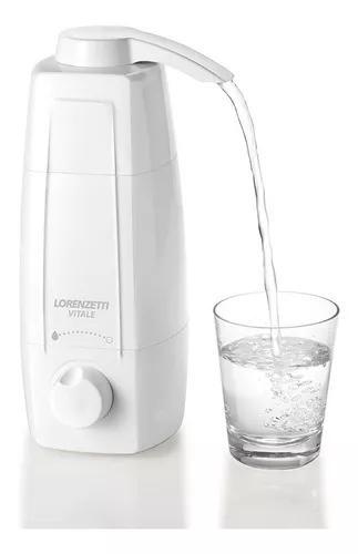 Filtro purificador água lorenzetti vitale atestado inmetro
