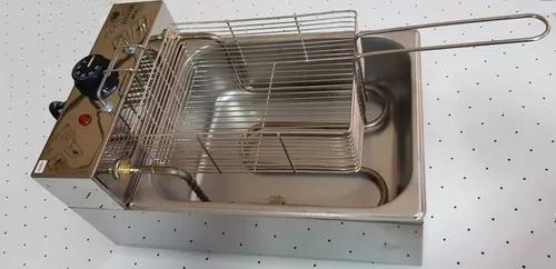 Fritadeira elétrica 1 cuba 5 lts tampa e frete gratis!