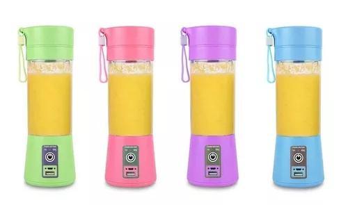 Mini liquidificador portatil shake juice cup recarregavel
