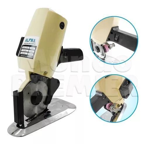 Máquina cortar tecido disco 4 polegadas 220v disco reserva