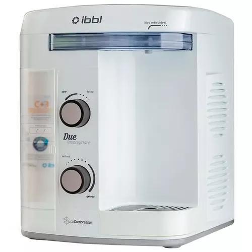 Purificador de água ibbl due immaginare refrigerado branco