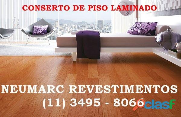 Reparo conserto e reforma de piso laminado e carpete madeira (11) 3495 8066