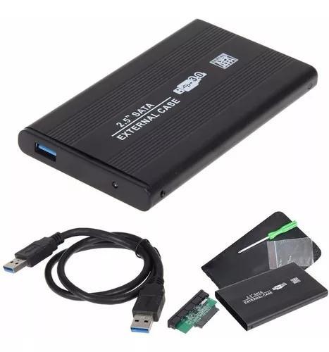 Case sata hd notebook 2.5 usb 3.0 externo ultra slim