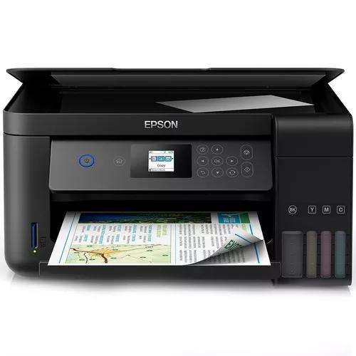 Impressora epson l4160 multifuncional colorida wifi *vitrine