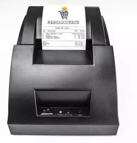 Impressora térmica usb cupom 58mm restaurante ifood