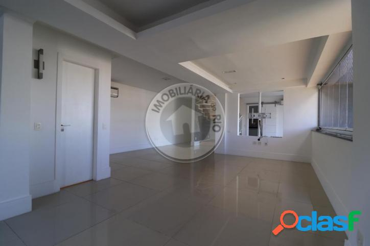 Apartamento duplex 167m², 3 quartos, mandala - barra da tijuca