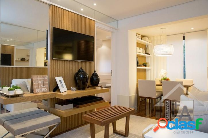 Apartamento Campo Belo -100% mobiliado 1 suíte 1 vaga 2