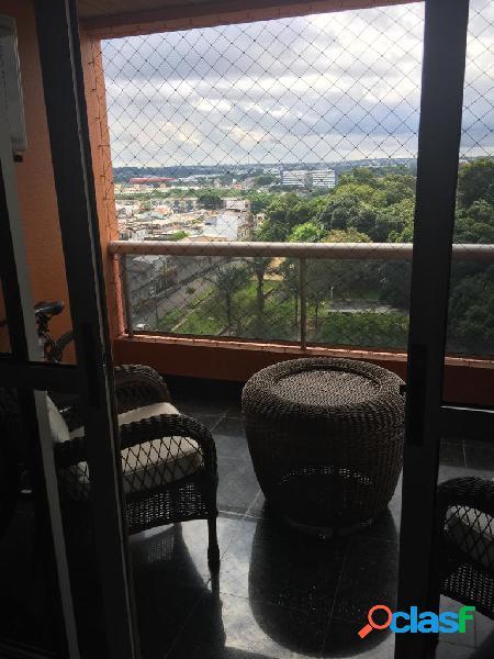 Alugo excelente apartamento mobiliado no edifício saint moritz no parque 10 - manaus amazonas am