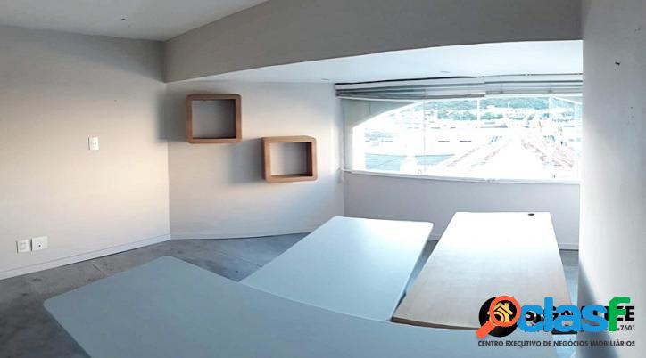 Locação fixa sala comercial 35m² centro de cabo frio