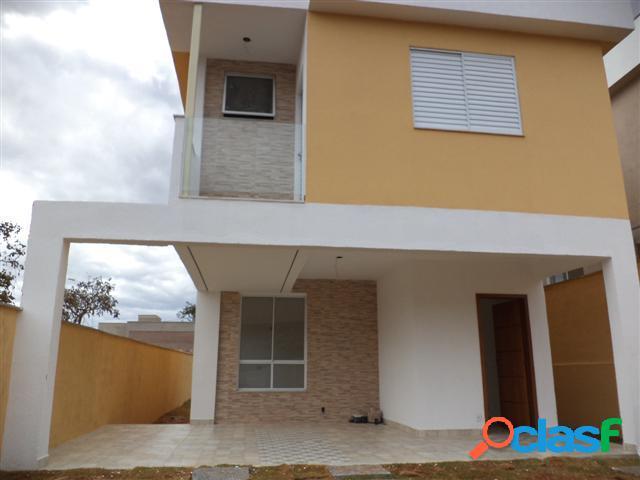 Casa em condomínio fechado - venda - lagoa santa - mg - condominio trilhas do sol