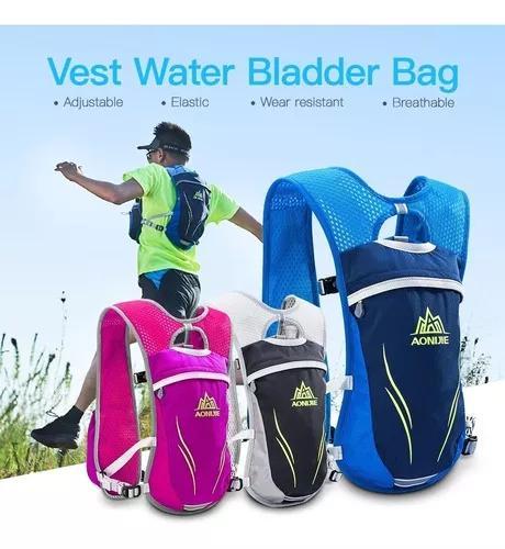 Aonijie ao ar livre hidratação pacote correndo vest pacote