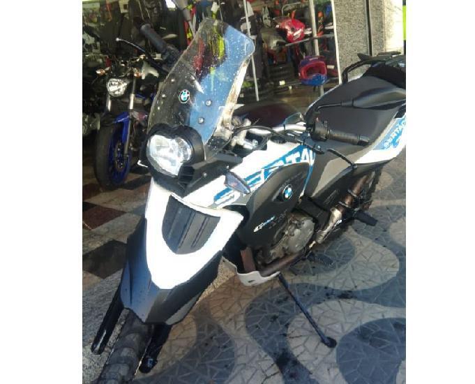 Bmw g 650 gs sertão branca 2012 moto bem nova e revisada