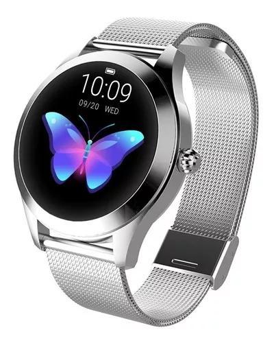 Kingwear kw10 relógio inteligente sportwatch mulheres ip68