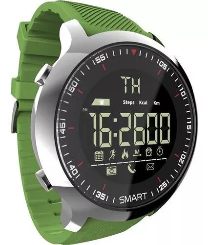 Lokmat mk18 inteligente inteligente relógio esporte lcd à