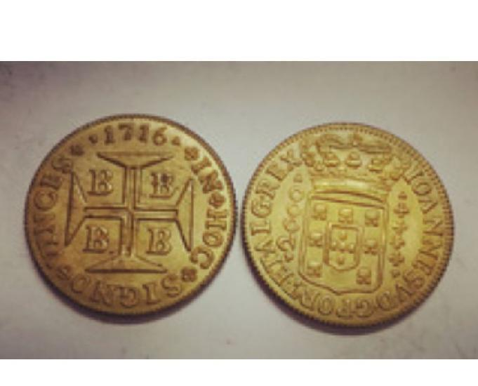Moedas antigas de ouro de r$600 até r$1200 cada-só aqui