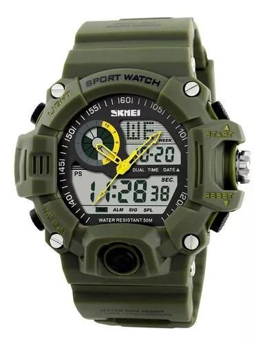 Relógio digital esportivo masculino skmei 1029, quartzo