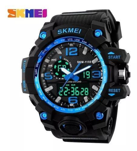Relógio esportivo à prova d'água skmei 1155 50m