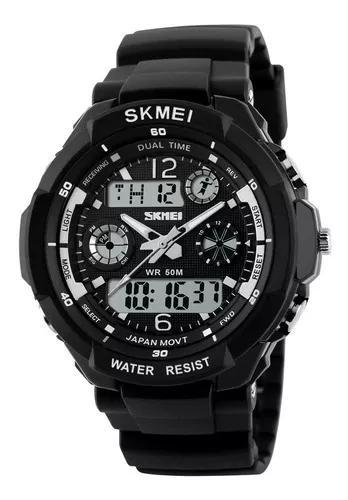 Skmei 0931 masculino digital quartz led sports relógio - ci