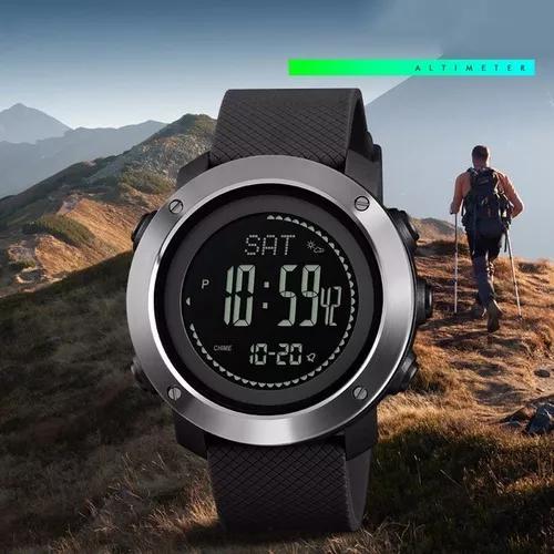 Skmei relógio masculino smart digital preto outdoor