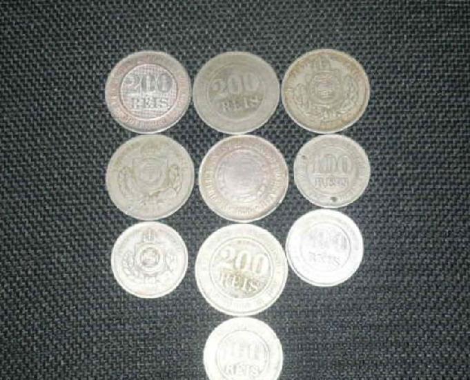 Vendo 20 quilos de moedas níquel de 1871 a 1901 r$4.000