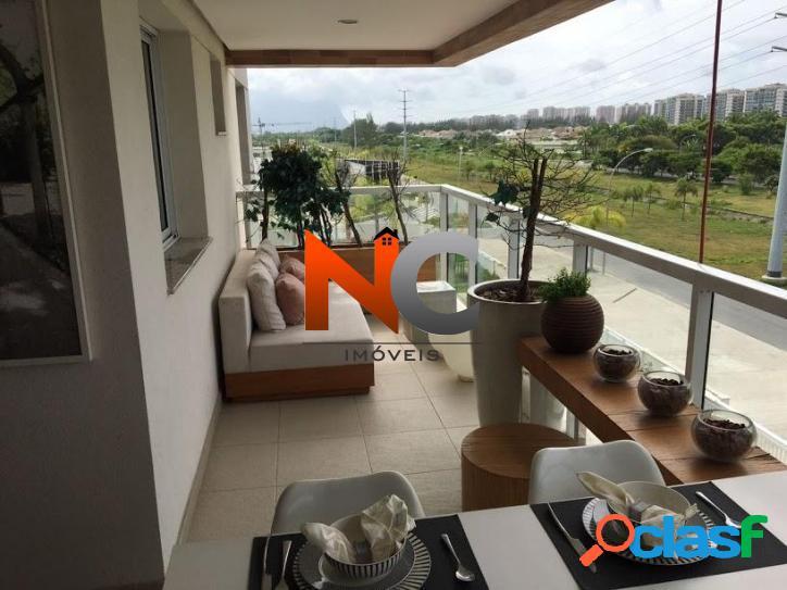 Apartamento com 3 dorms, barra da tijuca, rio de janeiro - r$ 1.189.490,00, 120m² - codigo: 196