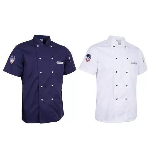 2 pieces chef cozinha serviços alimentos manga curta