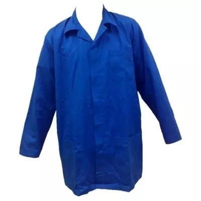 5 jalecos manga longa uniforme profissional brim
