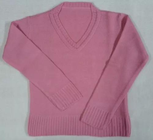 Blusa rosa v passeio suéter agasalho infantil menina