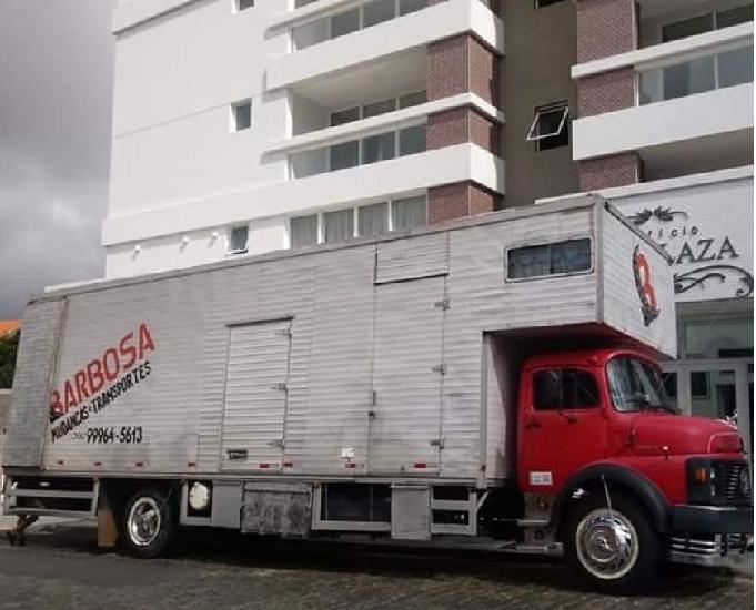 Caminhão toco baú mb 1113
