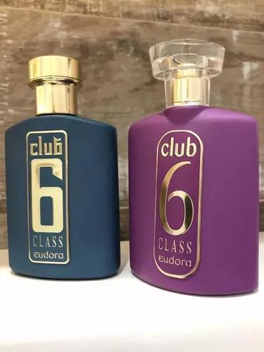 Club 6 class eudora deo colônia 95ml - escolha a