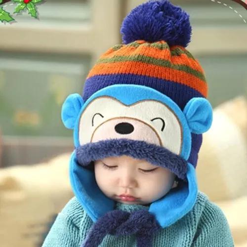 Gorro infantil touca infantil gorro para criança inverno