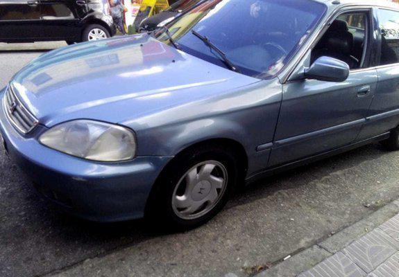 Honda civic ex autom. 99 completo
