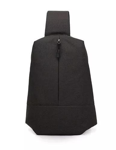Novo homens multifuncional casual peito pacote saco sobre om