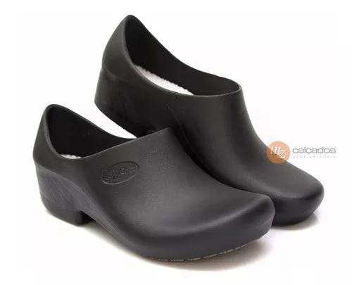 Sapato antiderrapante sticky shoe woman preto