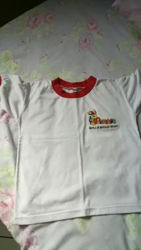 Uniforme escola suzaninho - camiseta manga curta