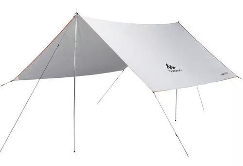 Abrigo tarp barraca camping protege do sol e da chuva