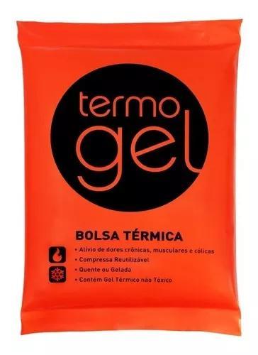Bolsa térmica de gel termogel -kit c/2 bolsa grande