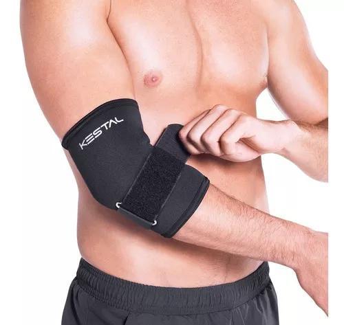 Cinta tennis elbow dupla longa ajustável ksn029 kestal