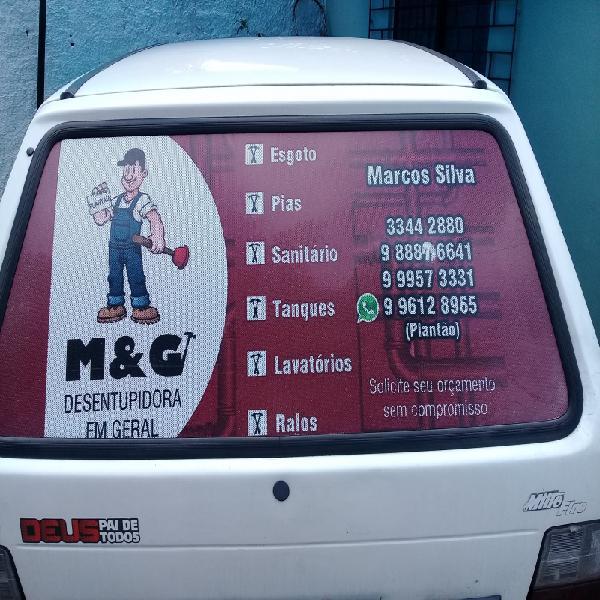 DESENTUPIDORA M&G SERVIÇOS