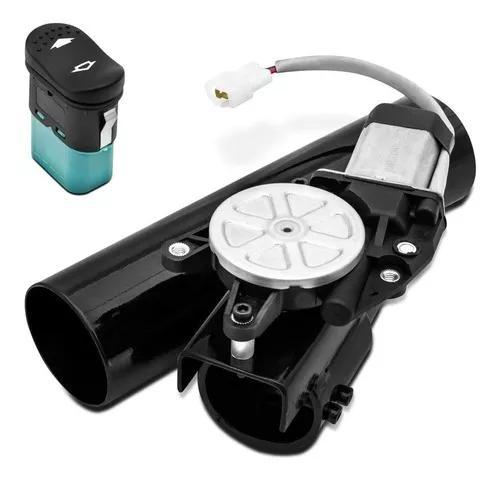 Difusor de escape eletrônico universal 2,5 pol aço preto
