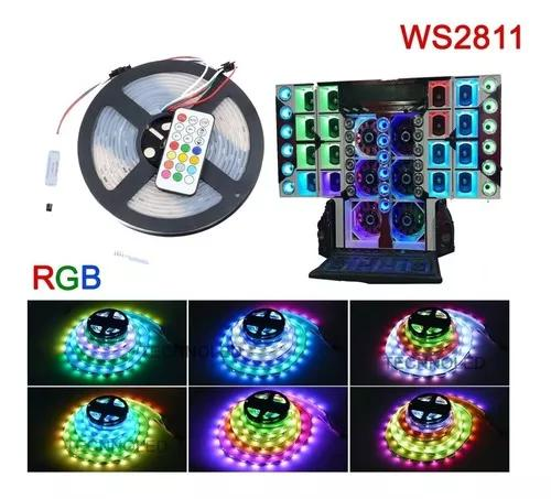 Fita digital led paredão de som ws2811 6803 ip67 366