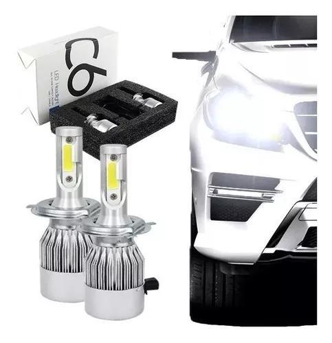 Kit lampada led automotiva h11 6000k super branca tipo xenon