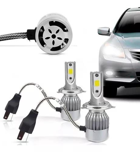 Kit lampada led automotivo 72w 6000k 7600lumens super branca