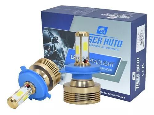 Kit lâmpada super led 4d h4 h7 h8 h11 hb4 hb3 par com