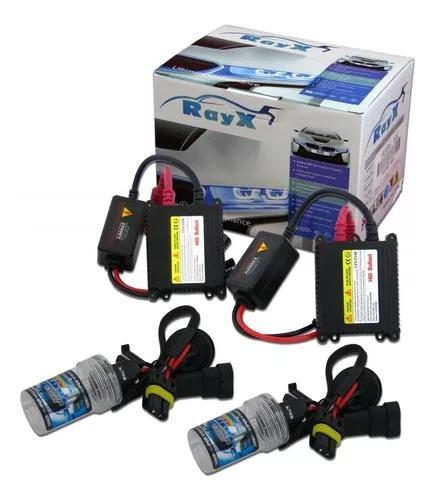 Kit xenon rayx h1 h3 h4 h7 h8 h11 hb4 4300k 6000k 8000k
