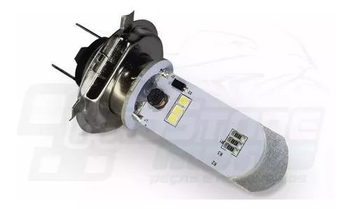 Lampada farol led maior alcance fan 125/150/160 2014 e/d.