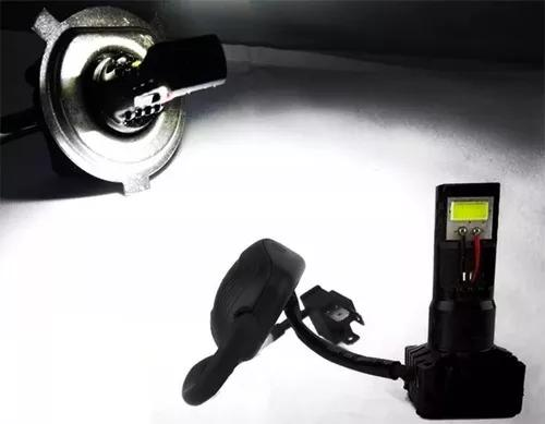 Lampada farol neo biz pop 100 / 110 biz 125 2 led bi-xenon