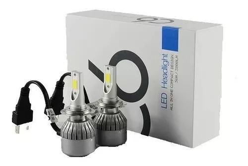 Lampada led farol h1 h4 h7 h11 6500k 4200 lumens xenon top