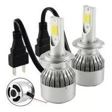 Lampada led h7 h3 h1 h8 h11 h27 hb4 c/cooler 7600lm
