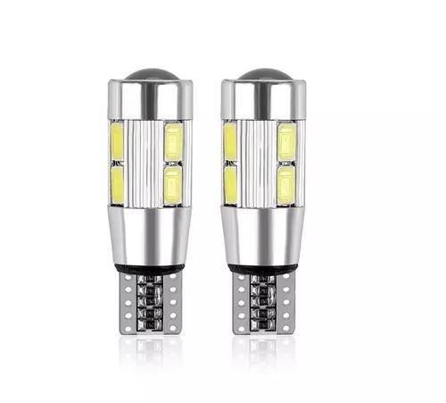 Par lâmpada pingo w5w t10 canbus 8w led 5630 5730 samsung